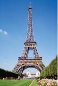Problem 9. The Eiffel Tower in Paris.